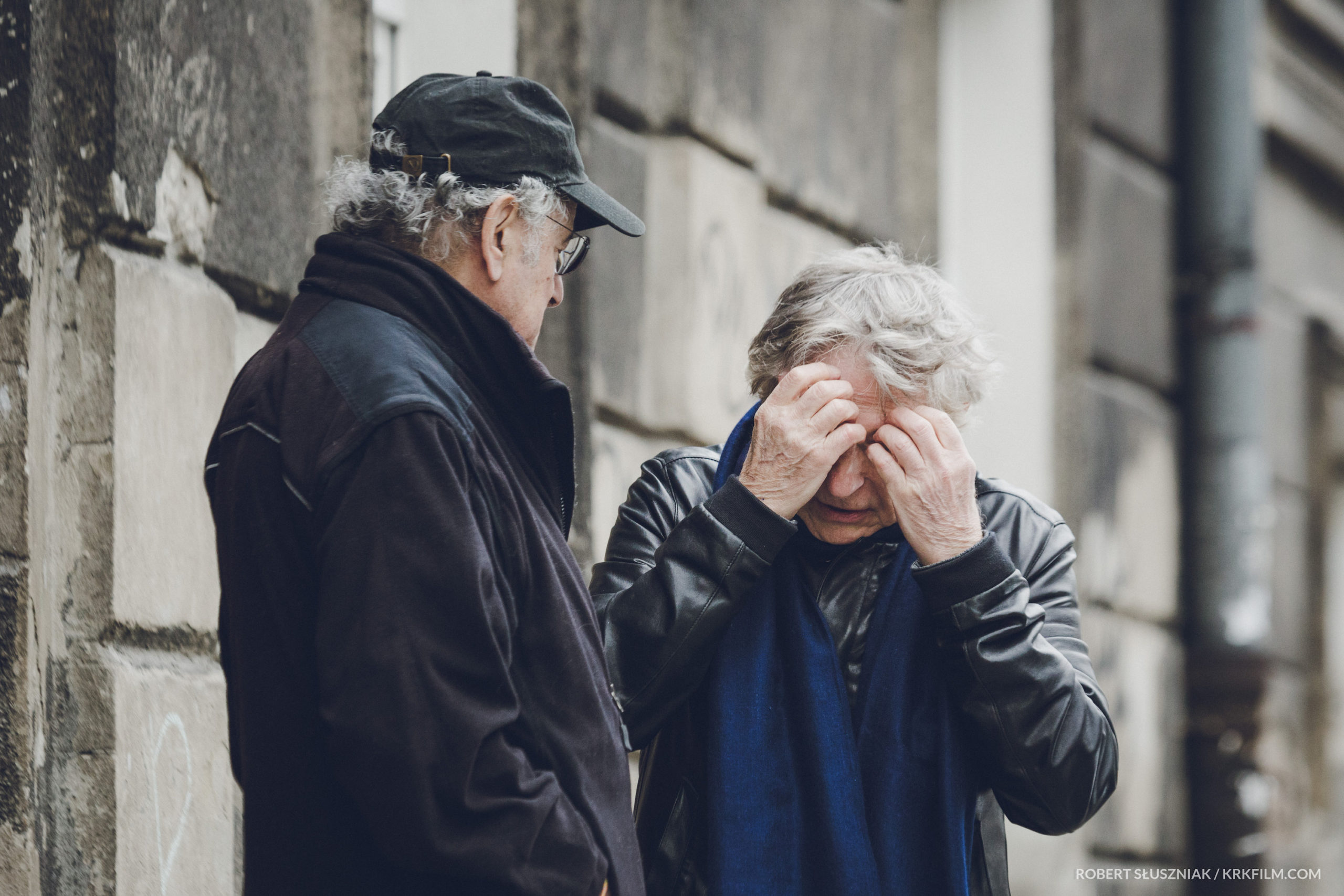 Roman Polański i Ryszard Horowitz